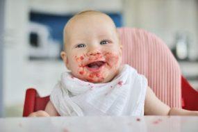 Was ein Baby nicht essen sollte