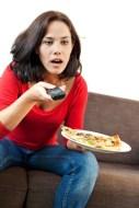 Fernseher, ein Feind der gesunden Ernährung