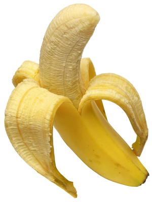 Banane, ein empfohlenes Obst