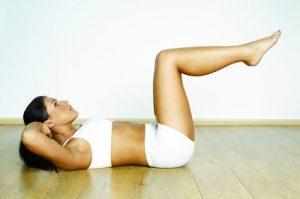 Ein flacher Bauch mit Yoga