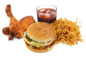 Halten Sie Ihre Kinder weg von Fast-Food