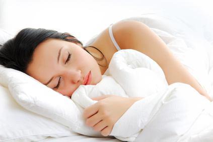 Schlafen Sie gut, um Ihre Haut zu heilen