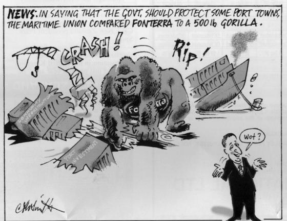 Cartoon courtesy of the Shipping Gazette