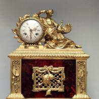 SAT S GLAZBENIM MEHANIZMOM mehanizam sata i glazbeni mehanizam: Fontaine, Švicarska, urar: J. D. Maillardet kućište: Pariz, kraj 18. st. MUO 15064