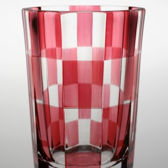 Bidermajer - replika - Čaša Šahovnica