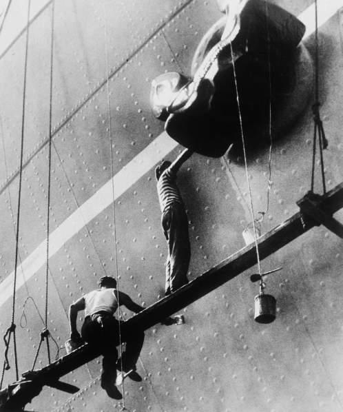 Bojenje broda, 1951. , autorsko povećanje, c/b, 58,5 x 48,4 cm, MUO 29511