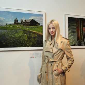 """Publika razgleda izložbu fotografija """"Rusija: Život, mjesta, trenuci"""""""