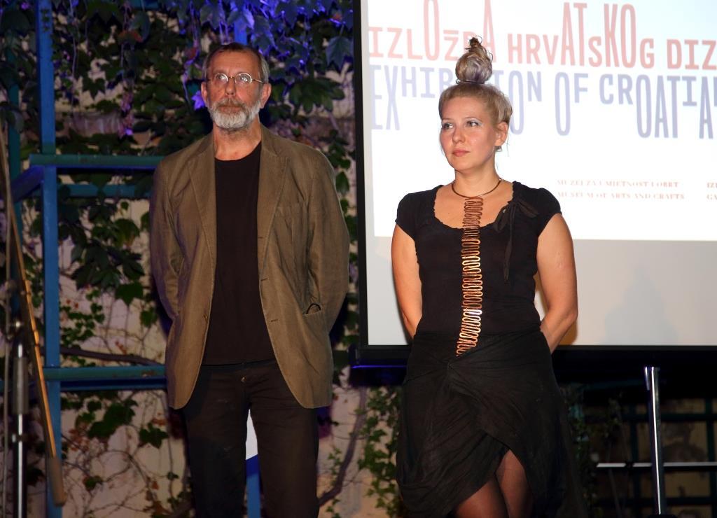 Anja Franjić i Boris Greiner - moderatori dodjele nagrada HDD-a za 2016.