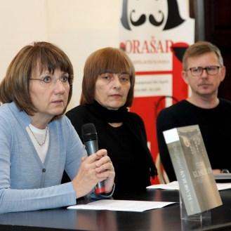 Irena Kraševac, Sanja Cvetnić i Marko Špikić