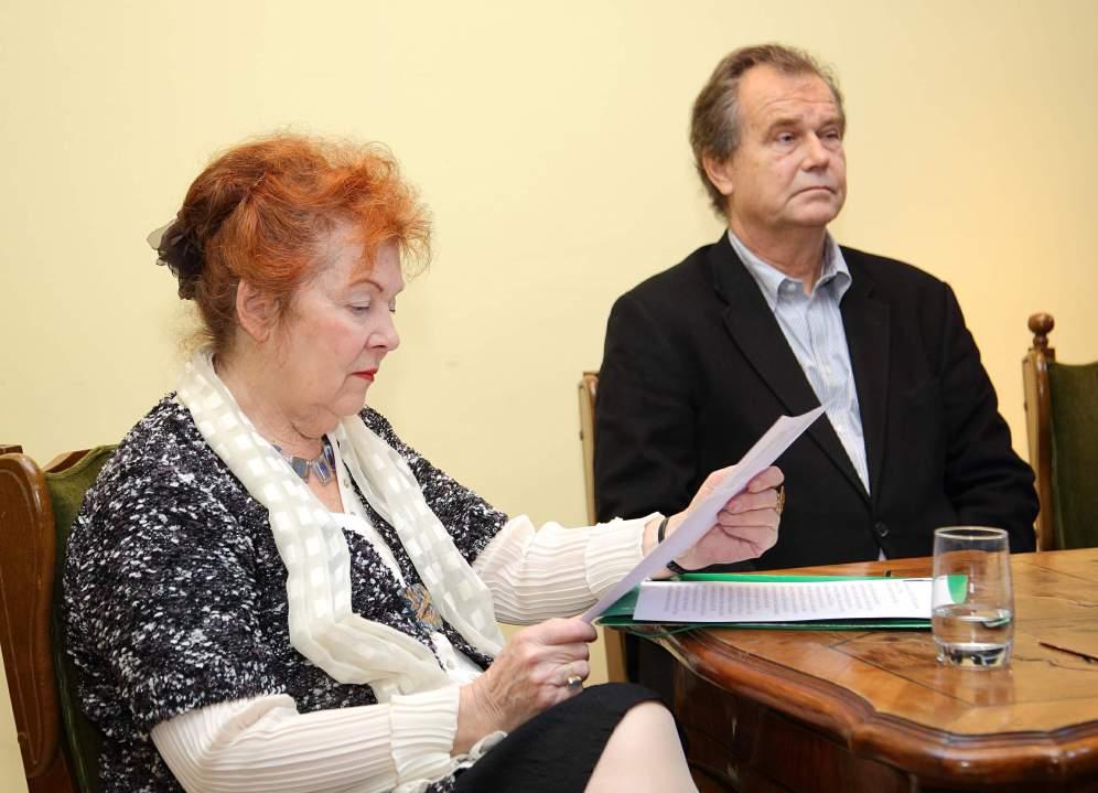 Ljerka Njerš i Miroslav Gašparović