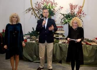Vesna Ledić, Miroslav Gašparović i Arijana Koprčina