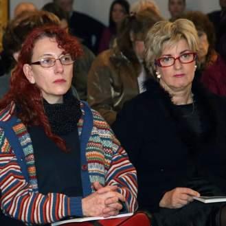 Publika na promociji knjige Višnje Slavice Gabout Keramika i suvremena umjetnost