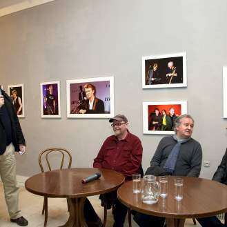 Miroslav Gašparović, Alekandar Dragaš, Brian Rašić i Siniša Škarica