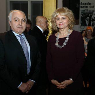 INj. E. ADRIANO CHIODI CIANFARANI, Veleposlanik Talijanske Republike i Vesna Ledic, MUO