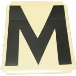 Tarrakirjain M korkeus 25 mm