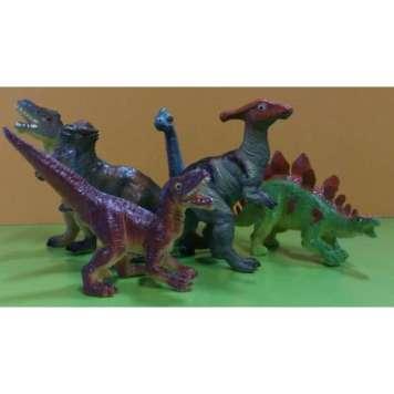 Dinosaurus 6 kpl pussi