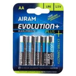 Paristo AA/LR6 Evolution Plus 4 kpl Airam