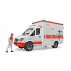 Bruder ambulanssi & kuljettaja
