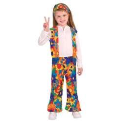 Hippi tyttö asu 5-7 vuotiaille