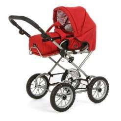 Brio Combi nuken yhdistelmävaunut, punainen