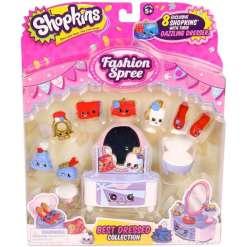 Shopkins Fashion Best Dressed 8 hahmoa ja kampauspöytä