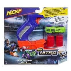 Nerf Nitro auto ja laukaisin, vihreä