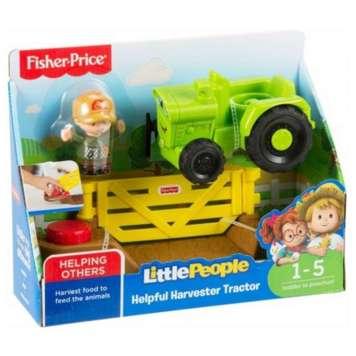 Fisher-Price ajoneuvo traktori