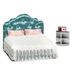 Lundby makuuhuone nukkekotiin