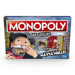 Monopoly Sore Loosers