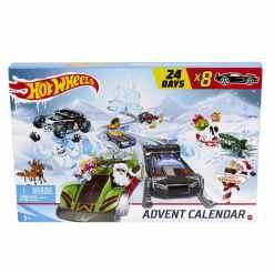 Joulukalenteri Hot Wheels 2020