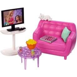 Barbie nojatuoli & tv