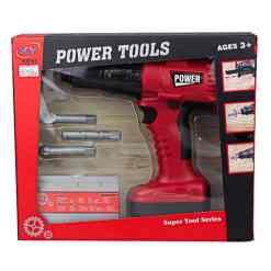 Porakone Power Tools punainen