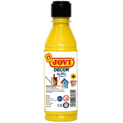 Akryyliväri Jovi 250 ml keltainen