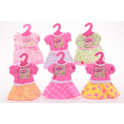 Nukenasu Baby Rose mekko 40-45 cm