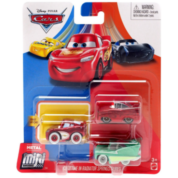 Cars Mini Racer auto 3 kpl Next Gen Racers Series
