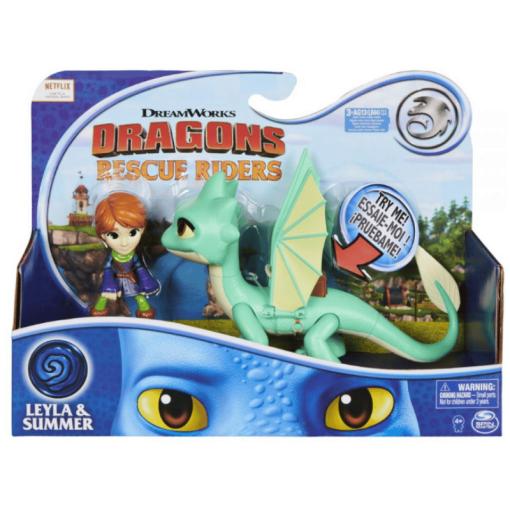 Dragons Rescue Leyla & Summer