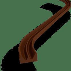 Tiiviste E 6 m, ruskea