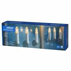 Led ikkunasarja 6 kynttilää Airam