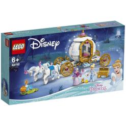 Lego Disney 43192 Tuhkimon kuninkaalliset vaunut