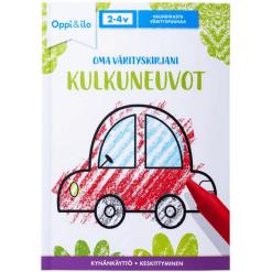 Oppi & Ilo Oma värityskirjani kulkuneuvot