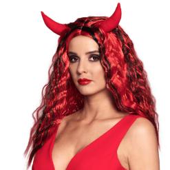 Naamiaisasu peruukki She-Devil