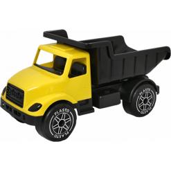Plasto kuorma-auto iso keltainen/musta