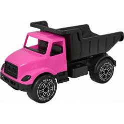 Plasto kuorma-auto iso pinkki/musta