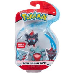 Pokemon Battle Figure Pack Gible & Zorua