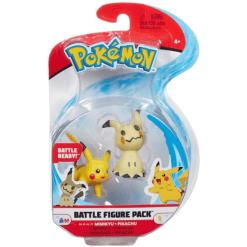 Pokemon Battle Figure Pack Mimikyu & Pikachu