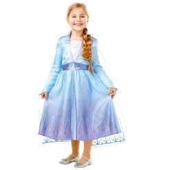 Lasten naamiaisasu Prinsessa Frozen Elsa