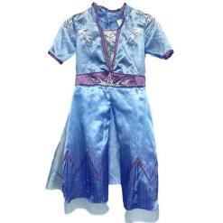 Prinsessa mekko jääprinsessa sininen