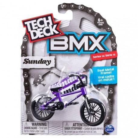 Sormipyörä Bmx Sunday liila Tech Deck