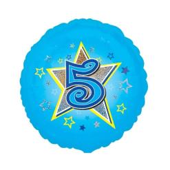 Foliopallo 5 vuotta sininen