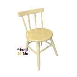 Lasten tuoli, puinen valkoinen
